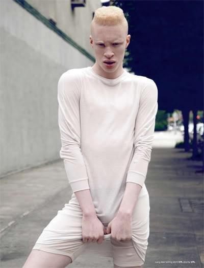 first albino male model | Pierrot the Clown  first albino ma...
